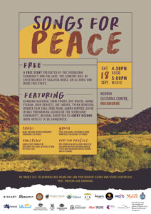 Songs for Peace - Roebourne @ Ngurin Cultural Centre